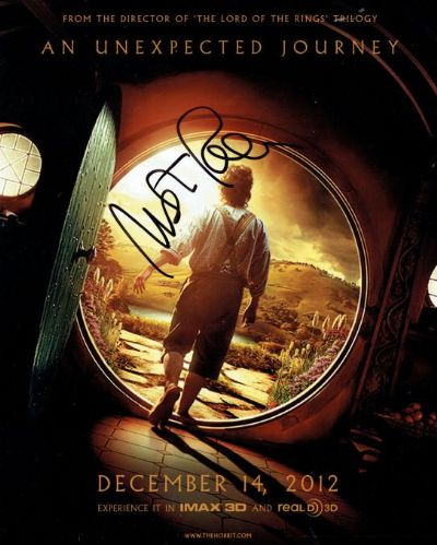 Martin Freeman Autograph Signed Hobbit For Sale